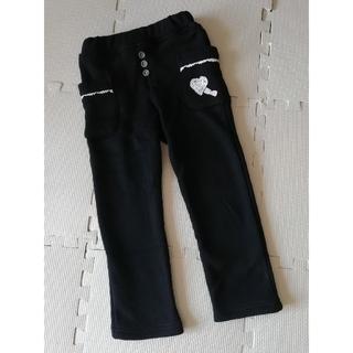 ビケット(Biquette)のビケット 冬物パンツ 裏起毛 ブラック 110 USED(パンツ/スパッツ)