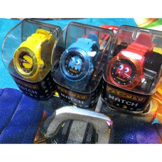 バンダイ(BANDAI)のパックマン 腕時計 全3種 腕時計 ウォッチ PAC-MAN WATCH(腕時計(アナログ))