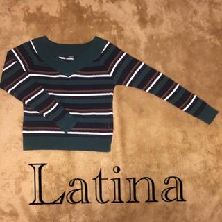 アナップラティーナ(ANAP Latina)のLatina ボーダーニット セーター (ニット/セーター)