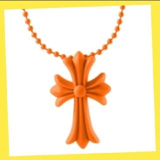 シリコンネックレス クロスモチーフ ラバー 男女兼用 十字架 ノーブランド