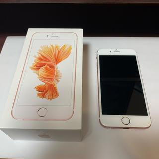 Apple - バッテリー83% iPhone6s 64gb SIMロック解除済み 64
