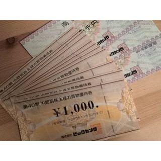 15000円分◆ビックカメラ 日本BS 株主優待券 お買い物割引券◆ポイント消化