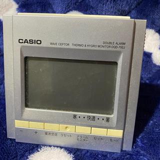 カシオ(CASIO)のCASIOのアラームつき電波置時計(置時計)