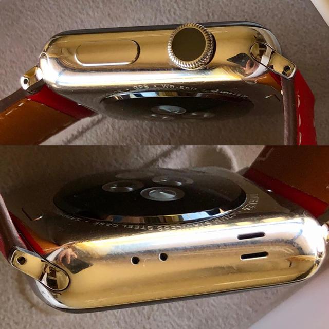 Apple Watch(アップルウォッチ)の美品 Apple Watch Series 2 HERMES 42mm レディースのファッション小物(腕時計)の商品写真