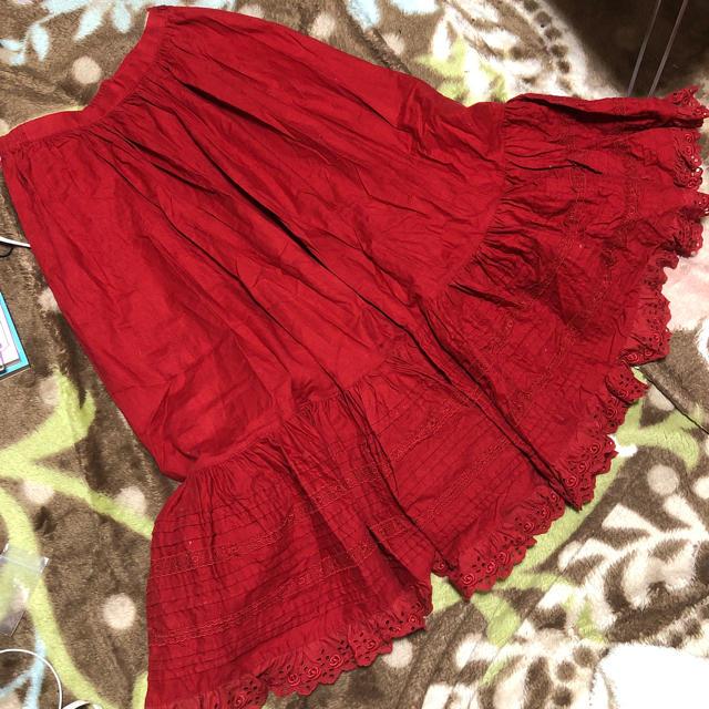 PINK HOUSE(ピンクハウス)の♡OLIVE HOUSE♡ ロングスカート レディースのスカート(ロングスカート)の商品写真