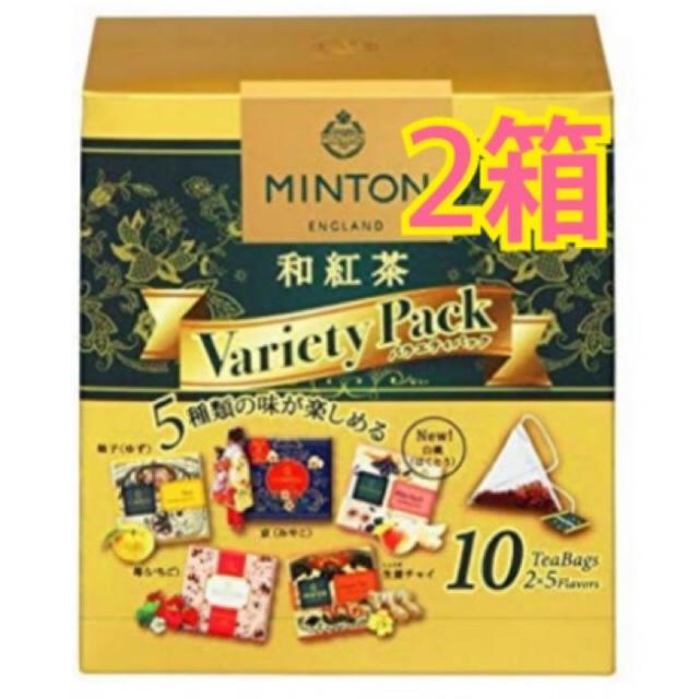 MINTON(ミントン)のミントンティー 和紅茶 20ティーバッグ 食品/飲料/酒の飲料(茶)の商品写真