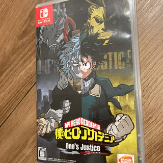 Nintendo Switch - 僕のヒーローアカデミア One's Justice Switch