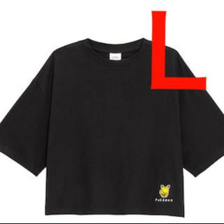 GU - ★レア★人気★GU ジーユー ポケモン Tシャツ 黒 Lサイズ