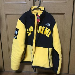 Supreme - supreme north face fleece jacket アーチロゴ