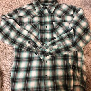 ウールリッチ(WOOLRICH)の90s〜 Woolrich ウールリッチ ウェスタンシャツ 長袖シャツ Lサイズ(シャツ)