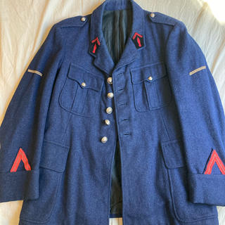 ポールハーデン(Paul Harnden)の10s〜20s FRENCH ANTIQUE WOOL FIREMAN JKT(ブルゾン)