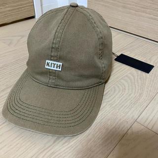 Supreme -  KITH  COTTON CAP ボックスロゴ カーキ