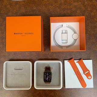 エルメス(Hermes)の更に値下!Apple Watch 3 Hermes+エルメス風の新品ベルト付き(腕時計(デジタル))