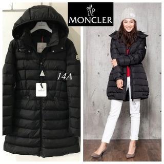 MONCLER - 購入証明書付◆今季新品モンクレール シャーパル◆黒14A◆Charpal