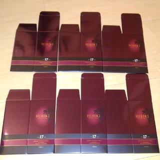 サントリー - サントリー 響17年 未使用 化粧箱 6枚セット ギフトボックス カートン