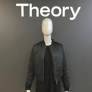 theory - Theory セオリー MA-1 ダウンジャケット  黒 S価格53900円