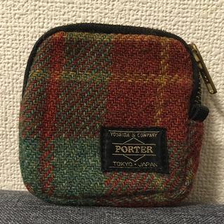 ポーター(PORTER)のPORTER&Harris Tweed☆コインケース(コインケース/小銭入れ)
