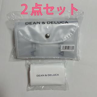 ディーンアンドデルーカ(DEAN & DELUCA)のDEAN & DELUCA バッグ クリア ミニマム エコバッグ 2点セット(エコバッグ)