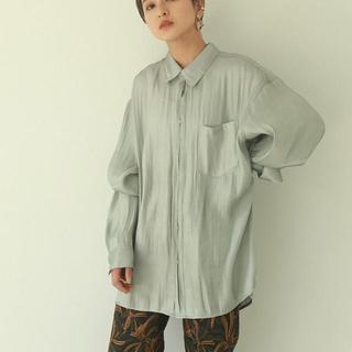 TODAYFUL - todayful クレープサテンオーバーシャツ