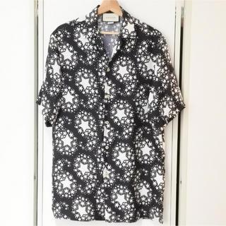 Gucci - グッチ メンズ 20AW シルク オーバーサイズ ボーリングシャツ ブラック