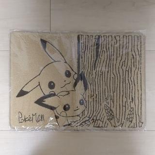 ポケモン - ポケモン サガラ刺繍ミニ絨毯 セピアグラフィティ ピカチュウ&ピチュー マット