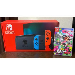 Nintendo Switch - Nintendo Switch(バッテリー強化版)+スプラトゥーン2