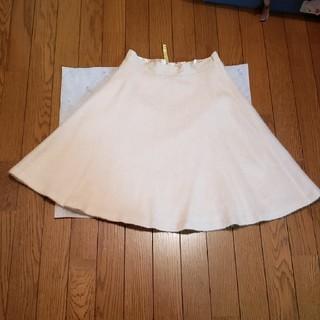 Debut de Fiore - 美品 Debut de Fiore オフホワイトスカート