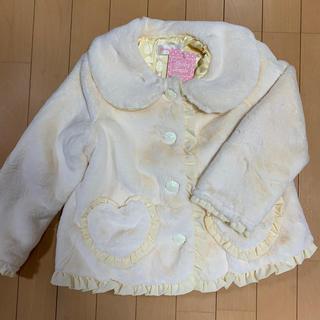 Shirley Temple - 本日大幅値下げ!シャーリーテンプルもこもこジャケットM(115-130cm)新品
