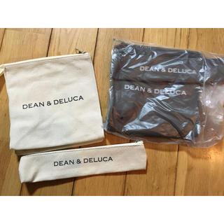 ディーンアンドデルーカ(DEAN & DELUCA)のDEAN&DELUCA ランチバッグ&カトラリーポーチ(弁当用品)