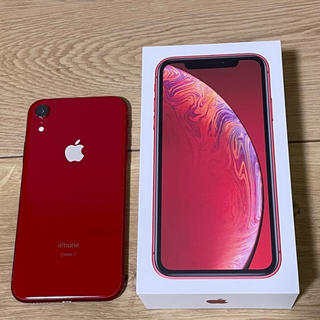 iPhone - 美品 iPhone XR RED 128 GB SIMフリー