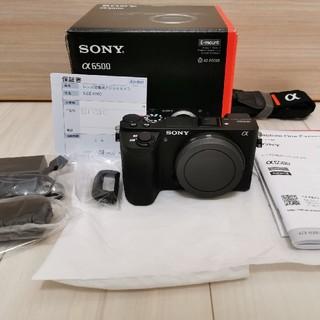 SONY - 美品 保証付き α6500 ILCE-6500 ボディ