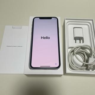 アイフォーン(iPhone)のiPhoneX 256GB Simフリー (携帯電話本体)