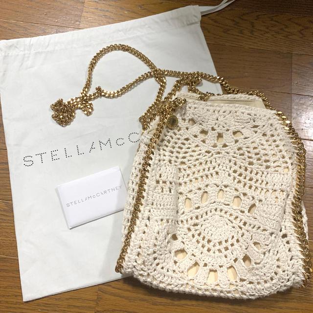 Stella McCartney(ステラマッカートニー)のStella McCartney レース編み ファラベラ レディースのバッグ(ショルダーバッグ)の商品写真