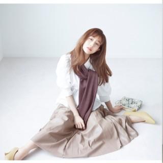 snidel - 【新品】スナイデル レザープリーツスカート