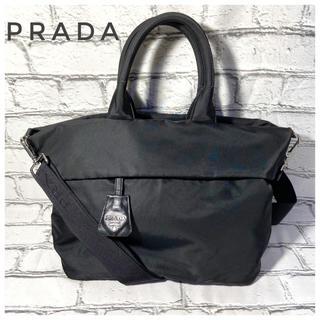 PRADA - 【美品】PRADA リバーシブル ナイロン 2way ハンド ショルダーバッグ