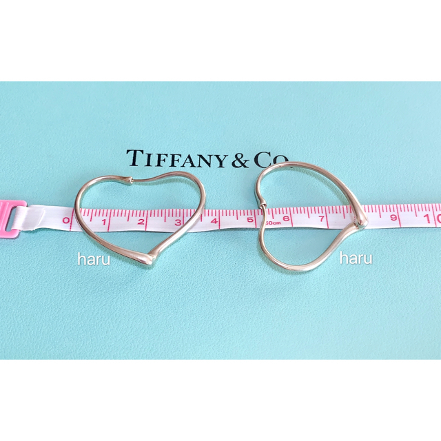 Tiffany & Co.(ティファニー)のTIFFANY&Co. ティファニーオープンハートフープピアスS レディースのアクセサリー(ピアス)の商品写真