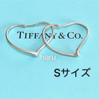 Tiffany & Co. - TIFFANY&Co. ティファニーオープンハートフープピアスS