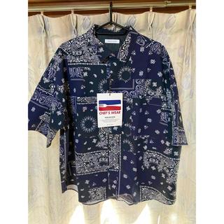フリークスストア(FREAK'S STORE)のfreaks store ペイズリー柄シェフシャツ(Tシャツ/カットソー(半袖/袖なし))