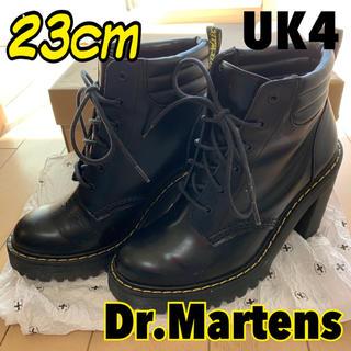 ドクターマーチン(Dr.Martens)のドクターマーチン  ヒールブーツ 23  黒 ペルセポネ(ブーツ)