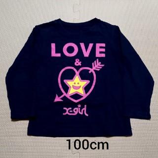 エックスガール(X-girl)の100cm エックスガール Tシャツ(Tシャツ/カットソー)