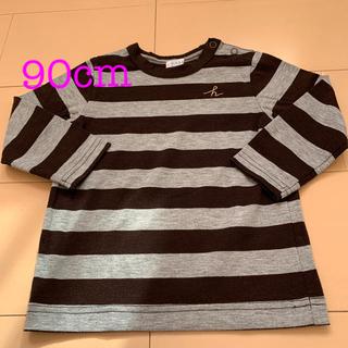 ハッカベビー(hakka baby)のハッカベビー 長袖 Tシャツ 90 男の子(Tシャツ/カットソー)