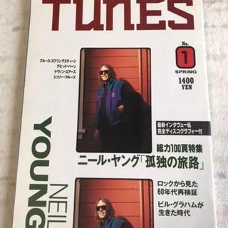 タカラジマシャ(宝島社)のニール・ヤング大特集 TUNES 別冊 宝島 1993年2月 創刊号(音楽/芸能)