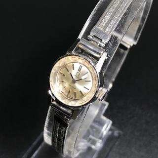 OMEGA - 【可動 正規品】オメガ  手巻き 腕時計 デビル 希少 カットガラス レディース