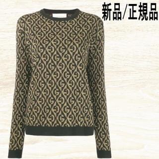 Gucci - ◆新品◆ GUCCI ラメ ジャカード プルオーバー セーター
