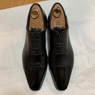 Santoni - 美品 マグナーニ Magnanni 42 シューツリー付 ビジネスシューズ 革靴