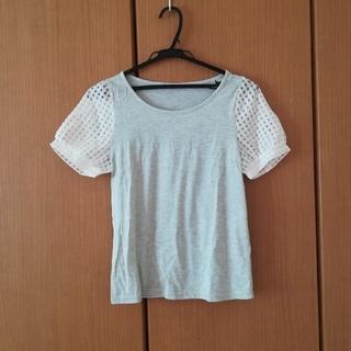 レトロガール(RETRO GIRL)の袖がオーガンジーのTシャツ(Tシャツ(半袖/袖なし))