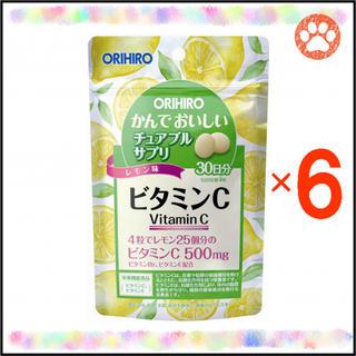 """オリヒロ(ORIHIRO)のオリヒロ かんでおいしいチュアブルサプリ """"ビタミンC"""" 30日分×6袋(ビタミン)"""