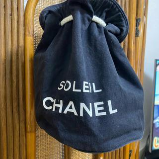CHANEL - シャネルノベルティ巾着バッグ