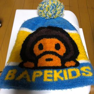 A BATHING APE - APEキッズ ニット帽
