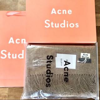 ACNE - 旧タグ acne studiosアクネストゥディオス マフラー ストール
